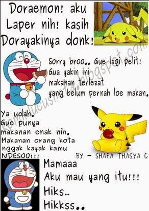 Demikianlah DP BBM Doraemon yang menarik untuk anda