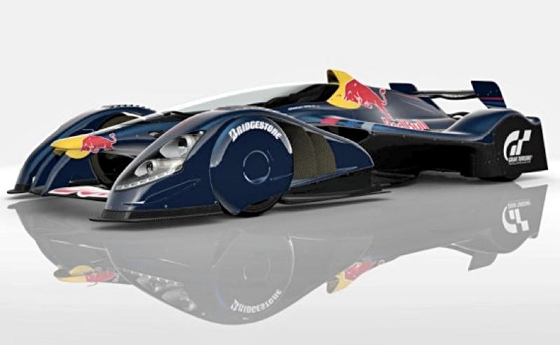 Scale Model News Future Fantasy Race Car Scale