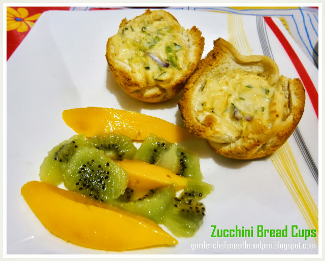 zucchini bread cups