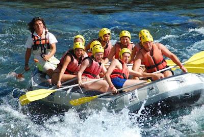 جولات سياحية في انطاليا تركيا, رفتينغ ( رحلة تجديف ) وادي كوبورلو,