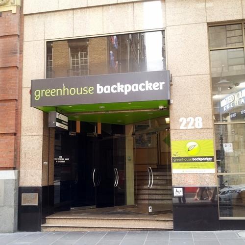 the greenhouse backpacker melbourne. Black Bedroom Furniture Sets. Home Design Ideas