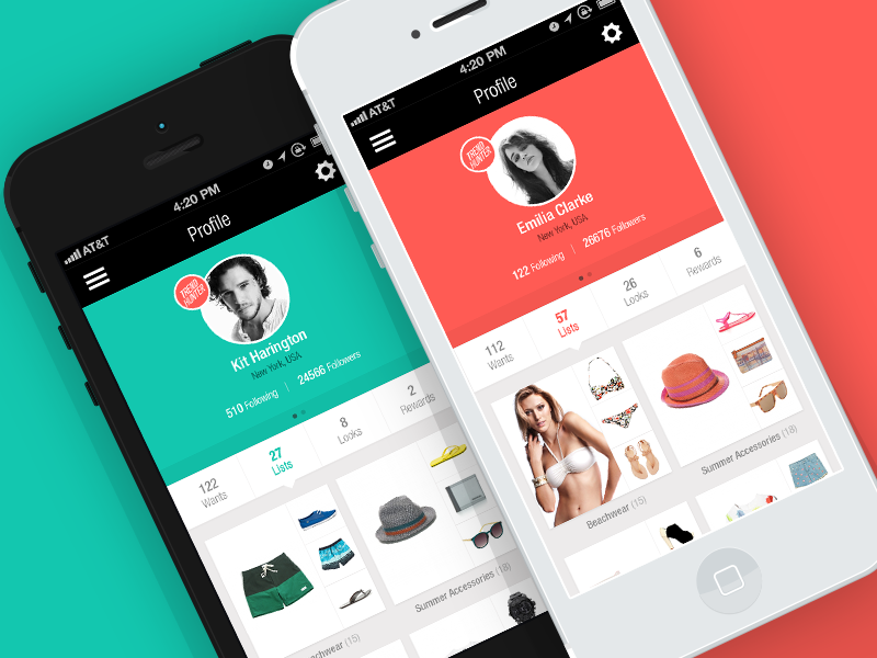 home 20 fantastic examples of flat ui design in apps