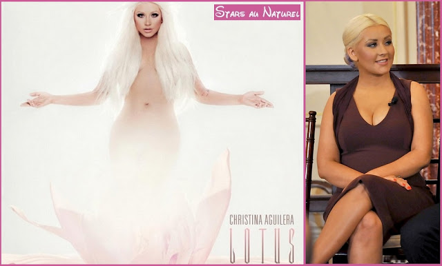 christina aguilera photoshop