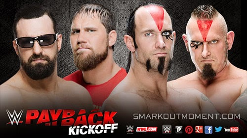 WWE Payback 2015 PPV Kickoff Pre-Show Match Axelmania Macho Mandow
