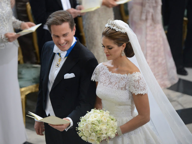 Boda de Magdalena de Suecia y Christopher O´Neill