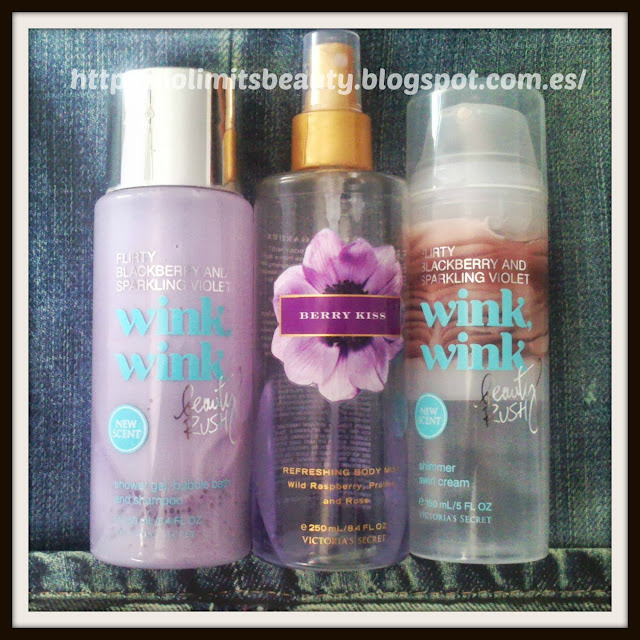Mi potiducha favorita (vol. 1): Berry Kiss y Wink Wink de Victoria's Secret
