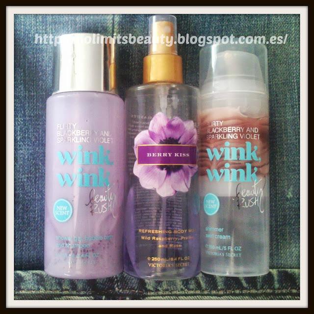Mi potiducha favorita (vol. 1): Berry Kiss y Wink Wink de Victoria's Secret