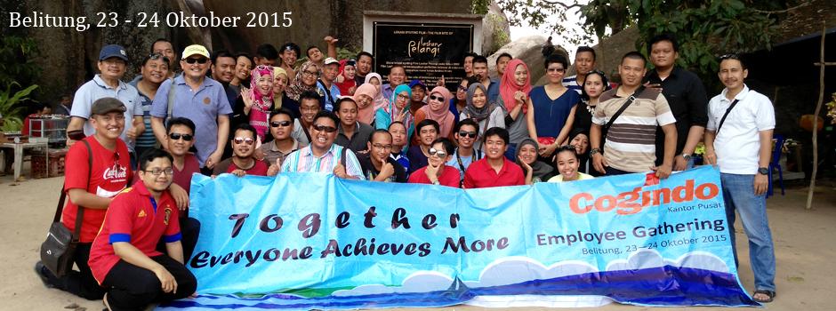 gathering company outing outbound fun games bangka belitung