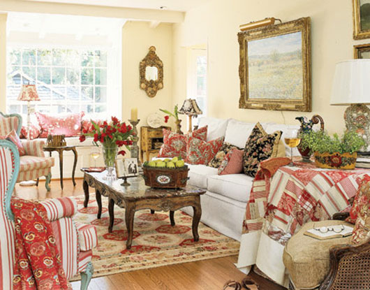 Cottage Living Room Decorating Ideas 2012 ~ Decorating Idea