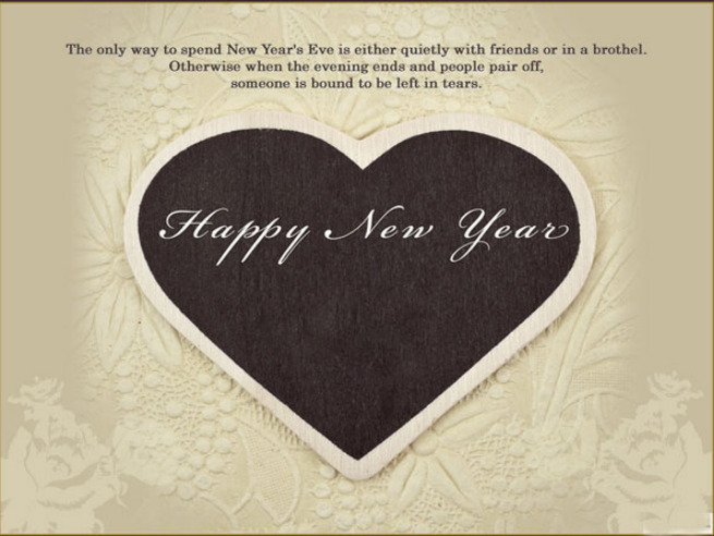 romantic greeting cards for happy new year 2015