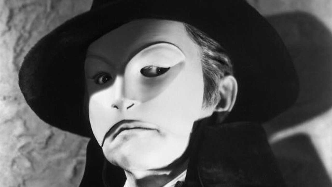 how to draw the phantom of the opera mask
