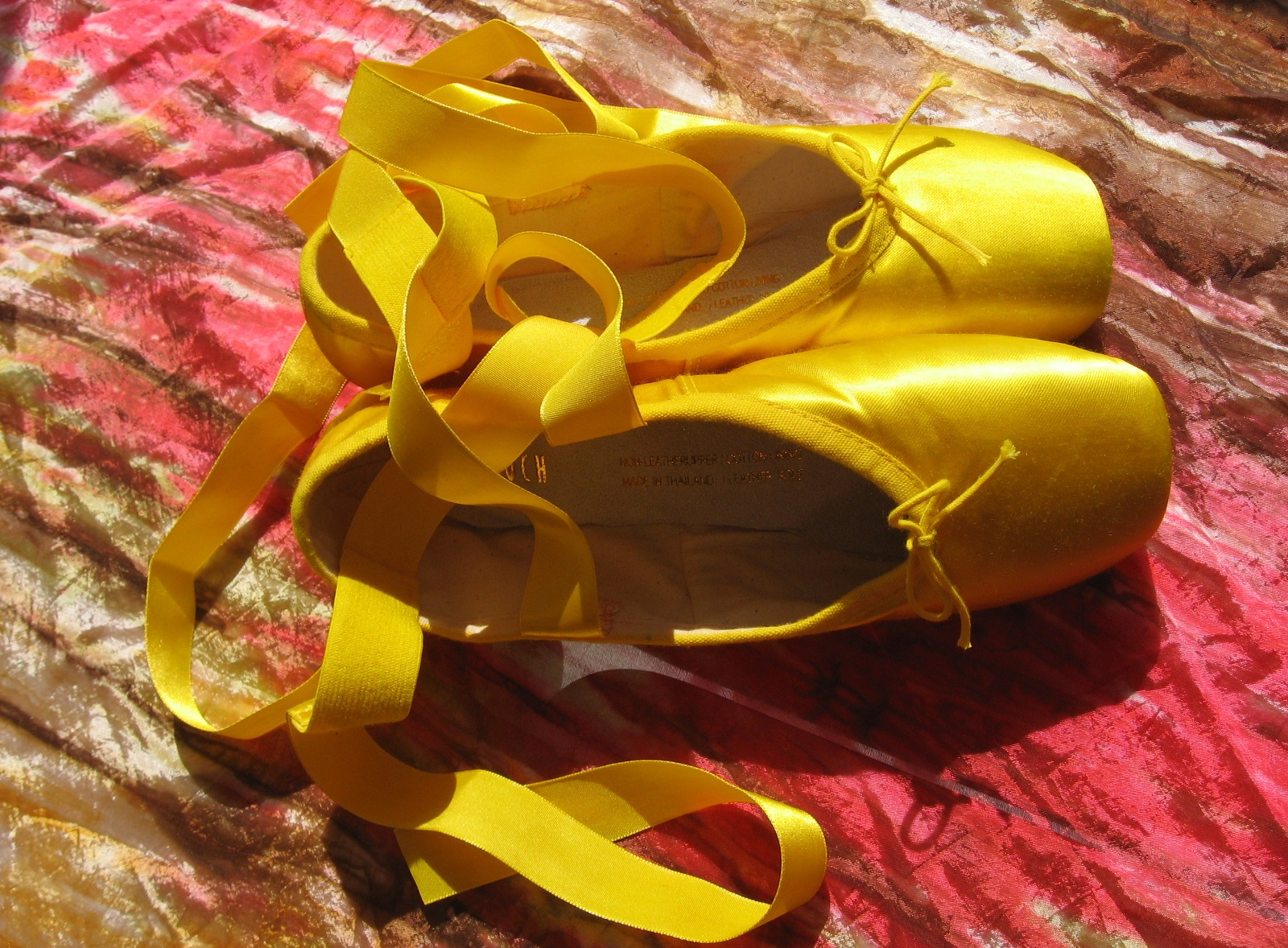 dear ones healing ministry quotyellow pointe shoes for you