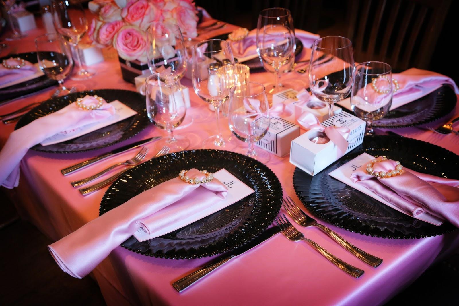 Boston Wedding Consultants: Chanel Themed Bridal Shower
