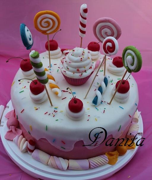 Eccezionale Le leccornie di Danita: Candy cake per la mia principessa CN17
