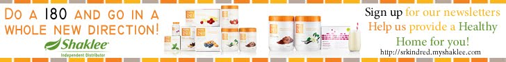 Take your shape in a whole new direction with Shaklee!