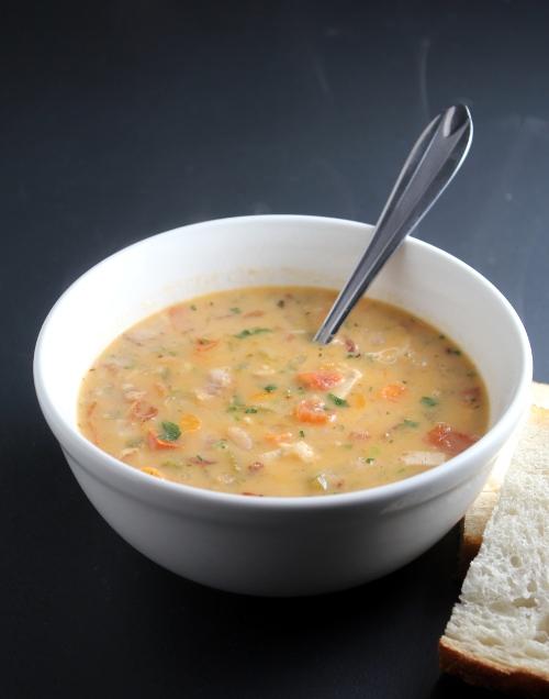 Kitchen Trial and Error: white bean & chicken chowder