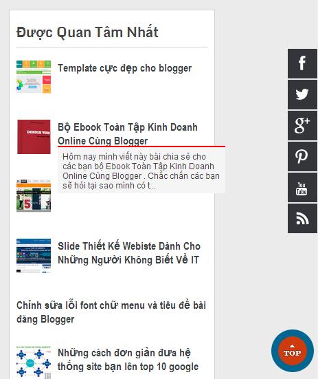 Popular Post cho Blogger có hiệu ứng đẹp mắt