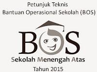 Juknis BOS Tingkat SMA 2015 Terbaru