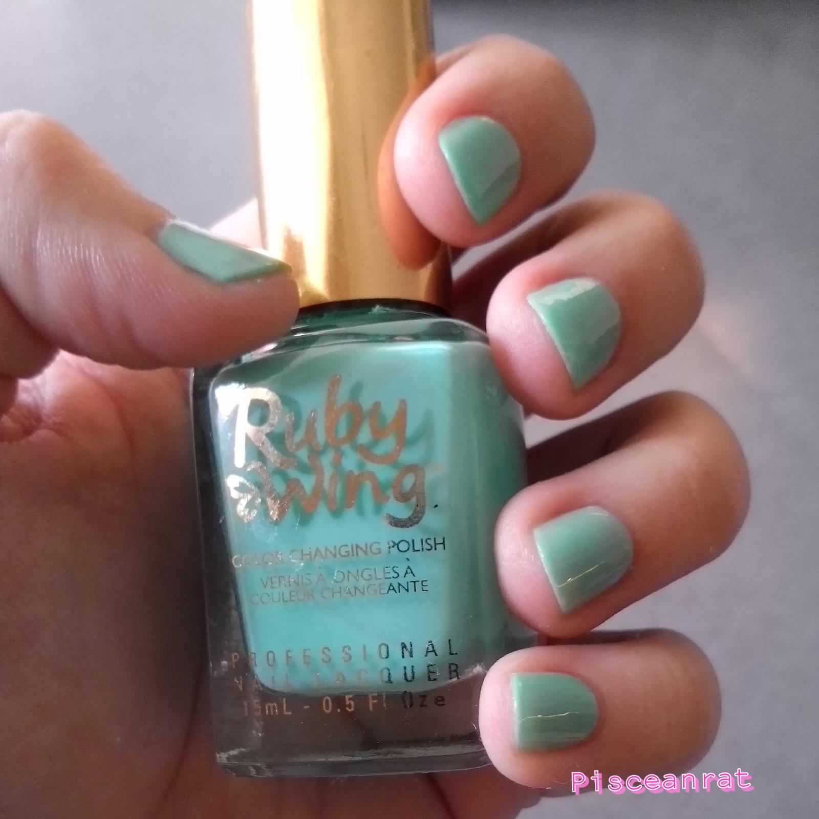 nail cocktales nail polish, ruby wing