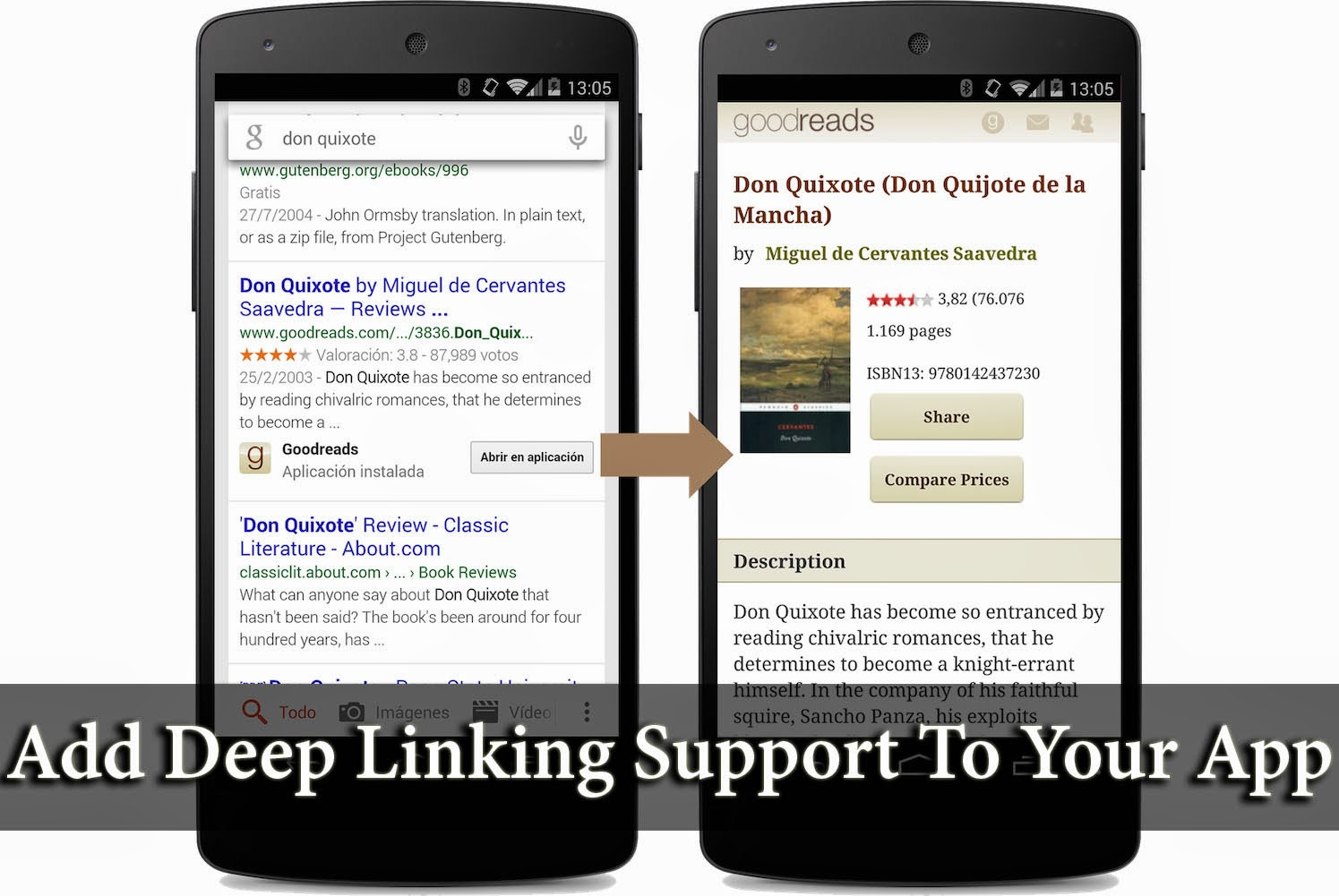 Add deep linking support to your app
