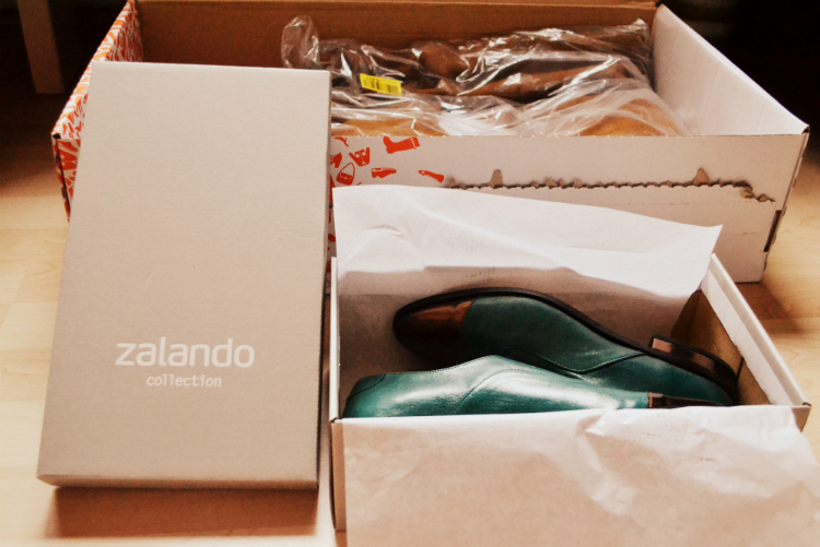 shoes parcel zalando
