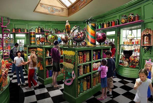 Parque do Harry Potter Orlando - Loja doces Dedosdemel