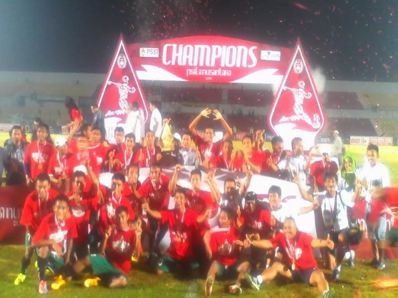 Juara Liga Nusantara 2014, Persatu Usung Target di Divisi Utama