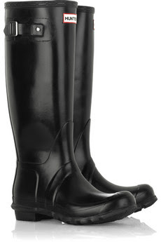 Rainy boots - Gummy boots - Hunter boots - For a rainy weather - black original