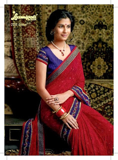 Embroidered sarees 2014-15