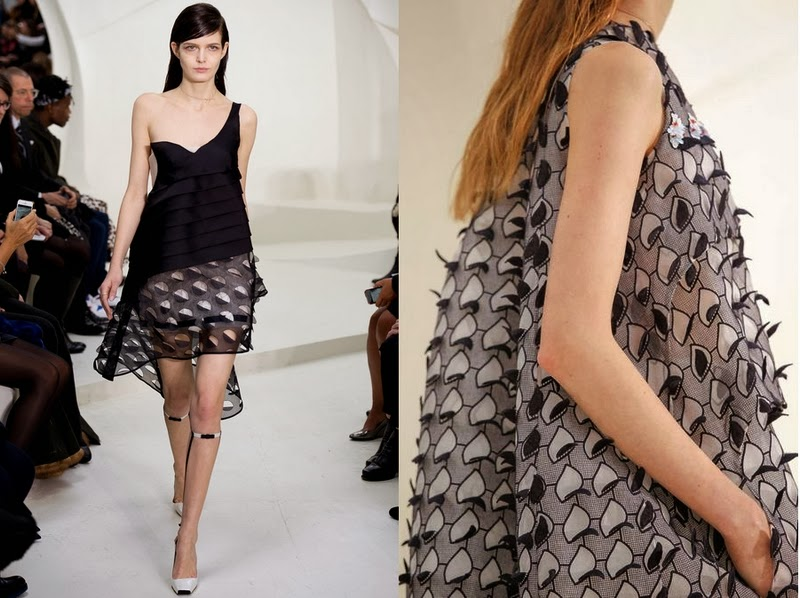 (ph/Style.com) Dior spring 2014 couture
