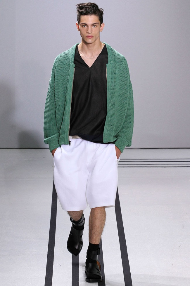 Mens Fashion S/S 2013 Olive Green Colors