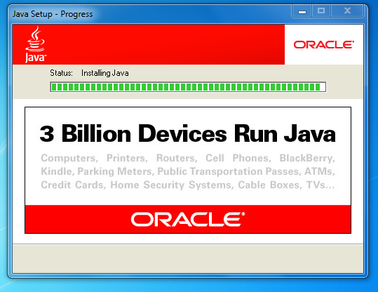 Billion devices run java oracle marketing java