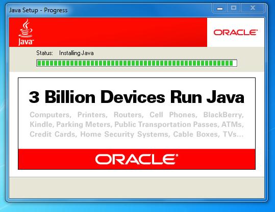 Billion devices run java oracle marketing java
