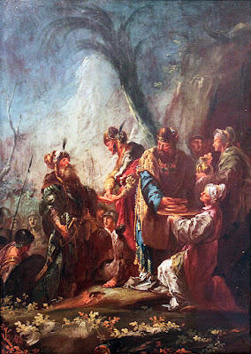 אברהם, מלכיצדק ומלך סדום