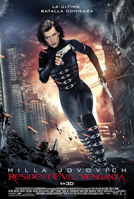 Ver Online Resident Evil 5: La venganza en Español – Película Completa (resident evil venganza cartel poster)