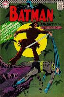 Batman #189 1st silver age scarecrow comic cover