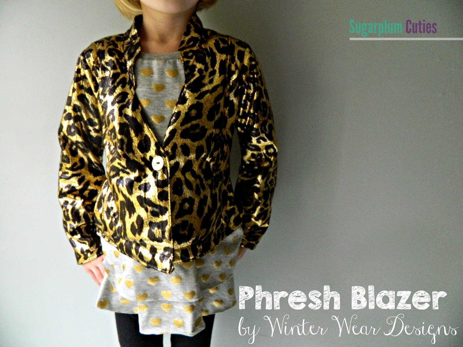 Sugarplum Cuties: Winter Wear Phresh Blazer