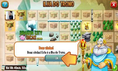 Ilha do Trono - Informações!