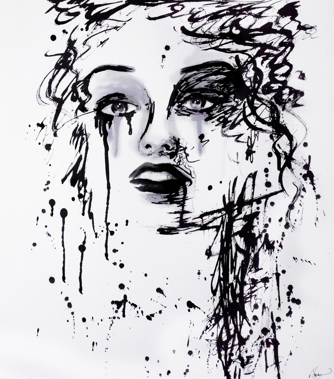 06-Andrea-Wéber-aka-Mandy-Candy-Paintings-A-Mirror-to-the-Artist-s-Emotions-www-designstack-co