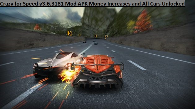 Crazy for Speed v3.6.3181 Mod APK Money Increases and All Cars Unlocked