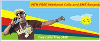 mtn free weekend calls and sms bonaza