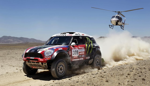 Méxicanos que participaron Rally Dakar 2012