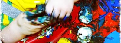 Atividades para Educação Infantil-Exploração de Texturas e Melecas