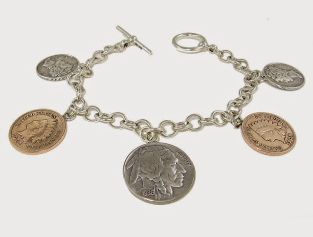 """US Coins Bracelet"""