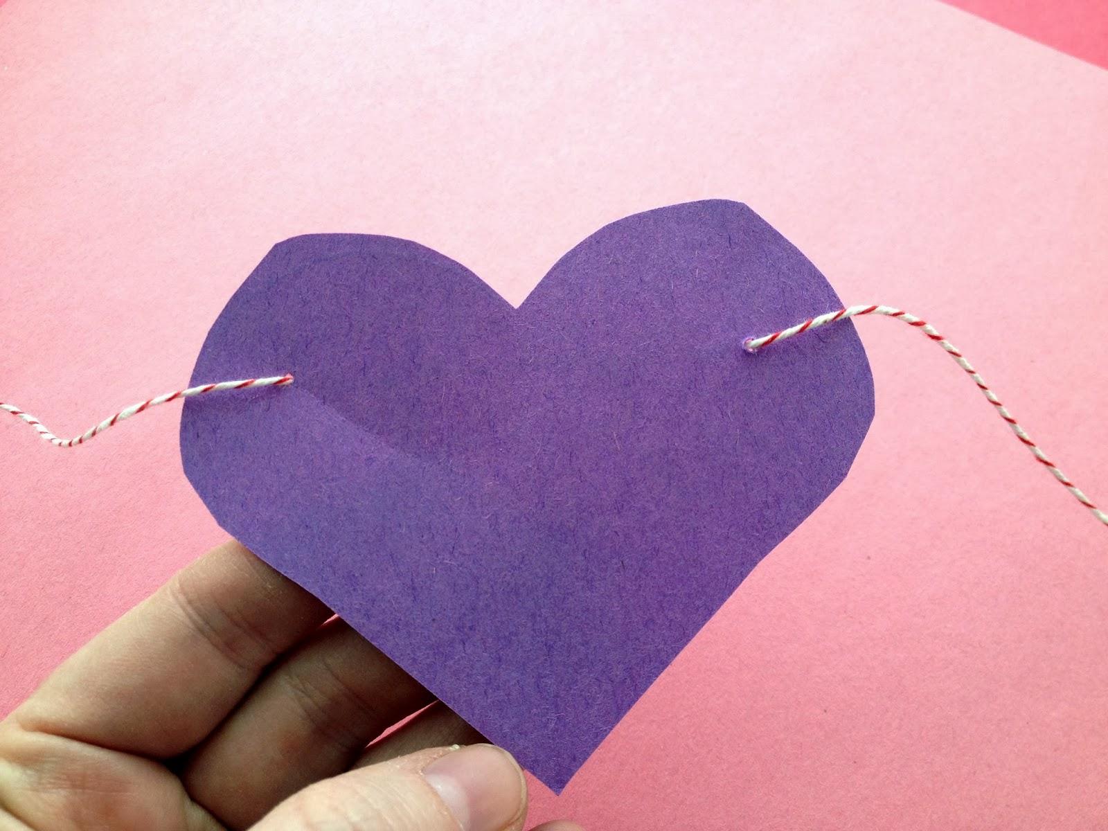 Voice of Reason: DIY Heart Banner