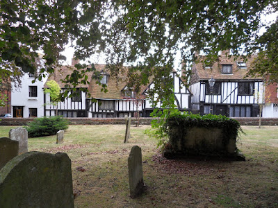 Church yard in Rye, East Sussex