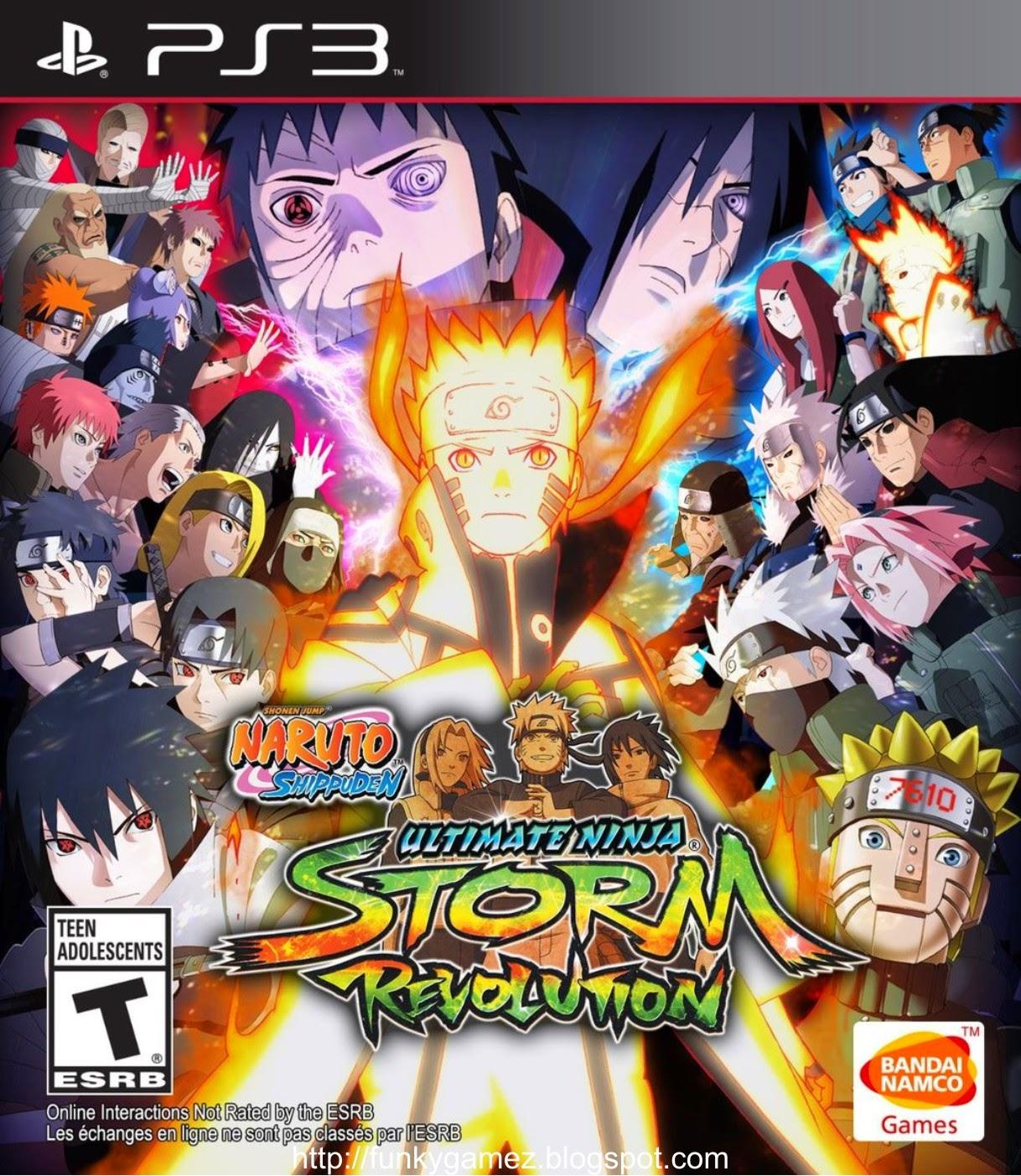 Naruto Shippuden Ultimate Ninja Storm Revolution PS3
