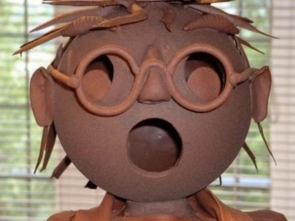 Sculptures aux chocolat pour enfants