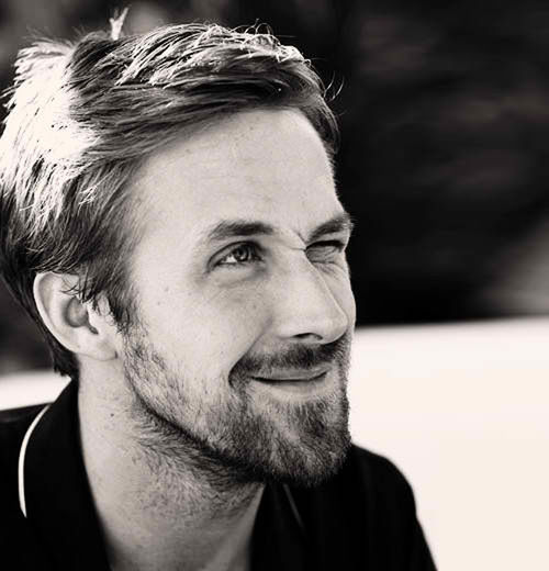 Ryan Gosling in cute beard