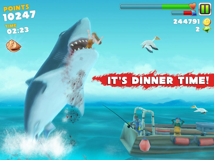Hungry Shark Evolution App iTunes App By Future Games of London - FreeApps.ws